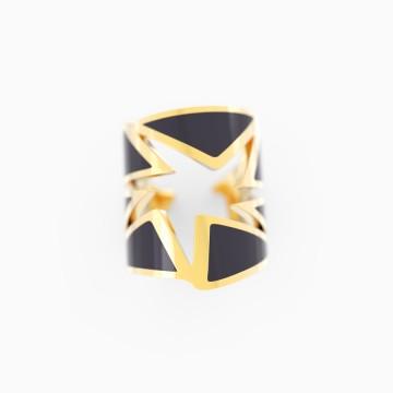 【七芒星】黑玛瑙戒指